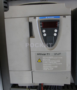 Частотный преобразователь механизма поворота. ATV71HD11N4Z