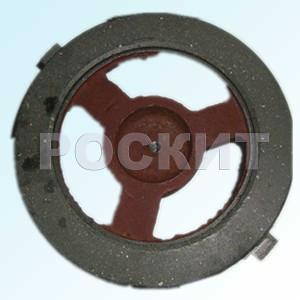 Тормозной диск механизма передвижения каретки
