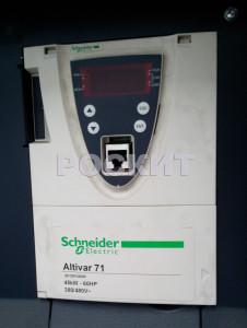 Частотный преобразователь механизма подъёма. ATV71HD45N4